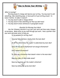 Writing - How to Revise Your Work