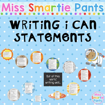 Writing I Can Statements