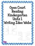 Writing Idea Web - Open Court Prewriting