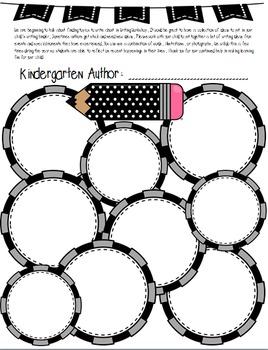 Writing Ideas From Home: Kindergarten