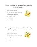 Writing Ideas - Narrative
