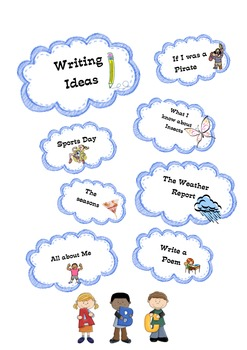 Writing Ideas for Daily 5 Work on Writing