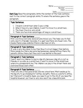 Writing & Identifying Introductions