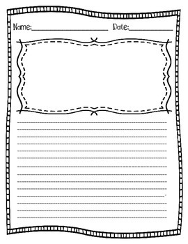 Writing & Illustration Template