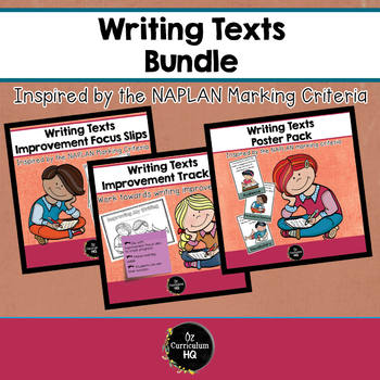 Writing Improvement Bundle {NAPLAN Inspired}