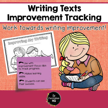 Writing Improvement Tracking Booklet