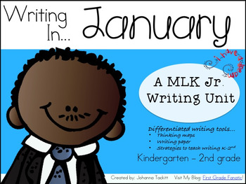 Writing In January...Martin Luther King Jr.