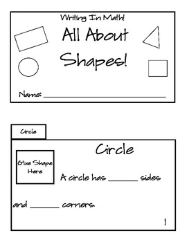 Writing In Math: Geometry Solid and Plane Shapes