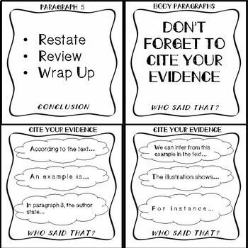 Writing In Response Task Cards