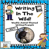Literacy Centers: Summer | Animal Picture Writing Prompt A