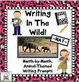 Literacy Centers: May | Animal Picture Writing Prompts Activities