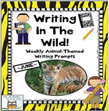 Writing Prompts: Weekly | Animal Themed Summer Activities