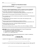 Writing In-text (Parenthetical) Citations Practice Worksheet