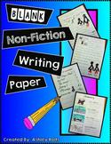 Writing-Informational Blank Writing Paper