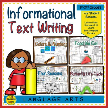 Writing Informational Text:  4 Units & Lessons