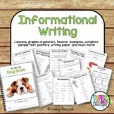 Informational Writing -- Common Core Aligned for Grades 3-5