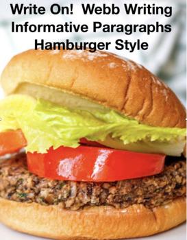 Writing Informative Paragraphs Hamburger Style