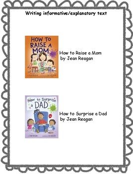 How to Raise a Mom and How to Surprise a Dad