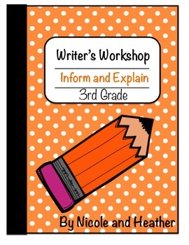 Writing Informative and Explanatory Texts 3rd Grade