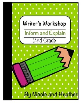 Writing Informative and Explanatory Texts 2nd Grade
