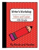 Writing Informative and Explanatory Texts 4th grade