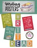 Writing Inspiration Posters and Decor