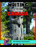 Canada Writing Activity, Writing Prompts and Story Starters