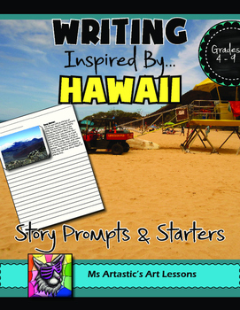 Hawaii Writing Prompts and Story Starters Writing Activity