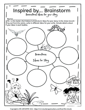 Spring Picture Prompts and Story Starters Writing Activity