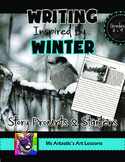 Winter Writing Activity, Picture Prompts and Story Starters