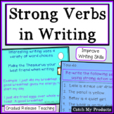 Writing Process : Tips to Improve Writing Verb Use and Choice