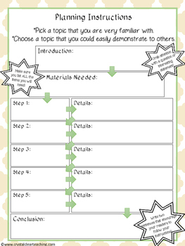 Writing Complete Instructions From Start to Finish