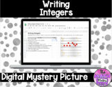 Writing Integers Digital Mystery Picture for Google™ Classroom