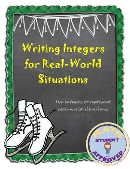 Writing Integers for Real World Situations and Absolute Value