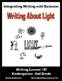 Writing Integrated with Science - Writing About Light - 5 Days of Writing