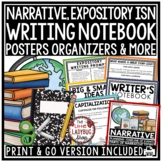 Personal Narrative, Expository Writing Interactive Notebook: Grammar Posters