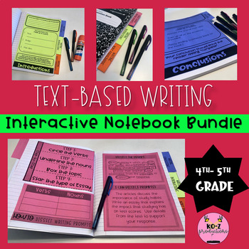 Writing Interactive Notebook Bundle