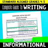 Informational Writing Complete Guide Grades 4-5 | Writing Lesson Plans