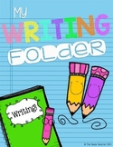 Writing Interactive Reference Folder for Upper Grades