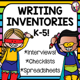 Writing Interest Inventories Spanish Versions too