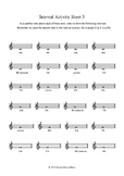 Writing Intervals - Activity Worksheets 5-8