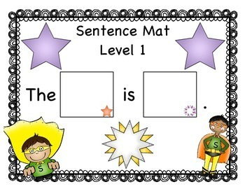 Writing Intervention: Simple Sentences- Grades 1-3 Sentence Superheroes