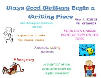 Writing Introduction Ideas