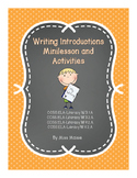 Writing Introductions Minilesson and Activities (Gradual Release)