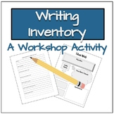 Writing Inventory: A Workshop Activity