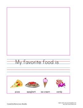 Writing Journal 1: Favorites - American English