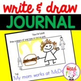 Write & Draw for Preschool & Kindergarten | Writing Prompts | Journal