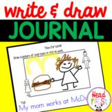 Write & Draw for Preschool & Kindergarten | Writing Prompt
