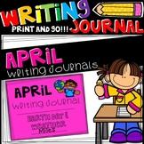 Writing Journal - April