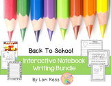 Interactive Notebook Writing Bundle